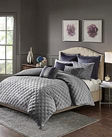 Signature Sophisticate 8-Pc. Velvet Comforter Sets