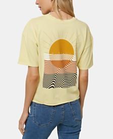 O'Neill Juniors' Cotton Zepplin Graphic-Print T-Shirt