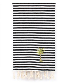 Linum Home Fun in the Sun Breezy Palm Tree Pestemal Beach Towel