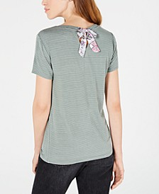 Striped Bow-Back Top, Created for Macy's