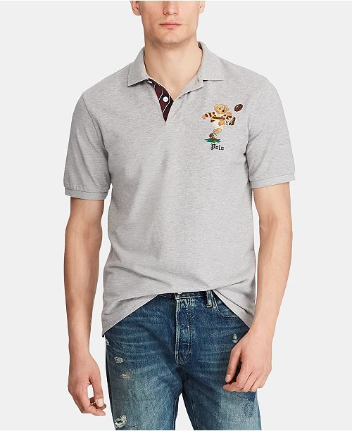 Polo Ralph Lauren Men's Classic Fit Bear Polo