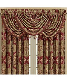 J Queen Maribella Crimson Waterfall Valance