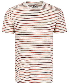American Rag Men's Multicolor Feeder Stripe T-Shirt, Created for Macy's