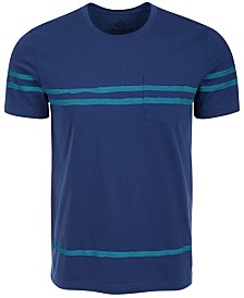 American Rag Men's Striped Pocket T-Shirt, Created for Macy's