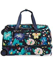 Lighten Up Foldable Large Rolling Duffle