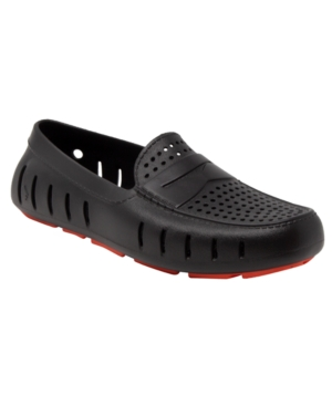 Floafers Men's Country Club Driver Slip On Loafers Men's Shoes In Black
