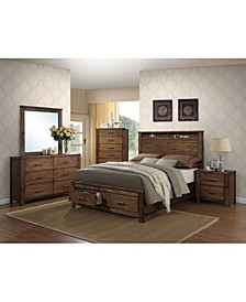 Merrilee Queen Bed with Storage