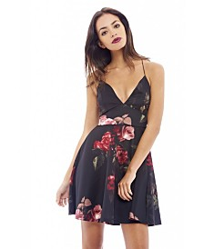 AX Paris Printed Strappy Skater Dress