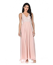 AX Paris Lace Top Maxi Dress