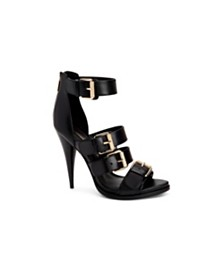 BCBGMAXAZRIA Gloria Buckle Detail Sandals