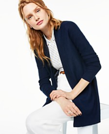 Charter Club Nicki Cashmere Open-Front Cardigan, Created for Macy's