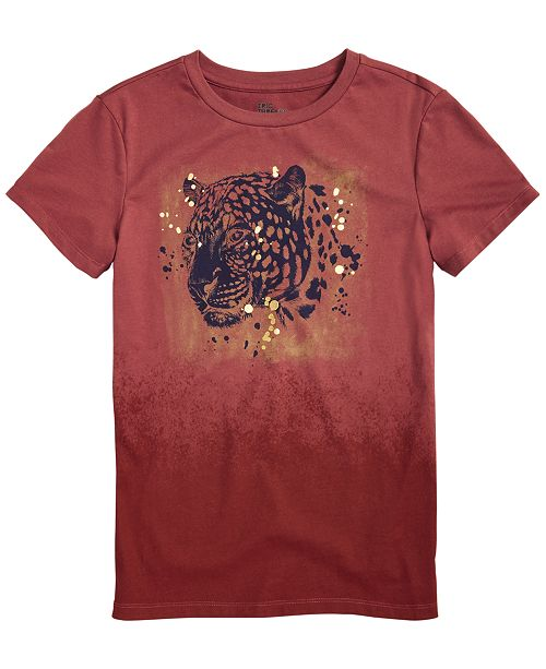 Epic Threads Little Boys Tiger Head T-Shirt, Created for Macy's