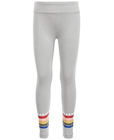 Little Girls Rainbow Stripe Leggings, Created for Macy's