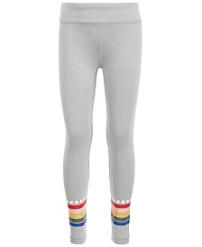 Ideology Little Girls Rainbow Stripe Leggings, Created for Macy's