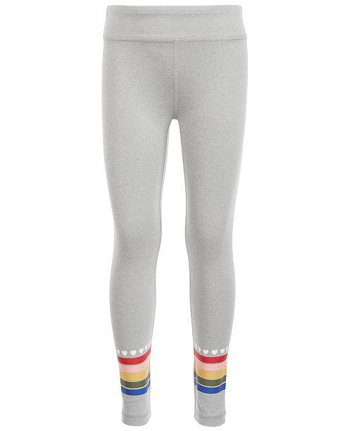 Ideology Toddler Girls Rainbow Stripe Leggings, Created for Macy's