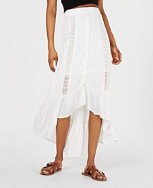 Juniors' Printed High-Low Maxi Skirt, Created for Macy's