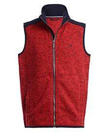 Big Boys Minos Full-Zip Sweater Fleece Vest