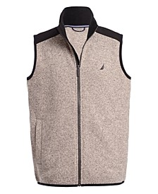 Big Boys Minos Full-Zip Sweater Fleece Vest