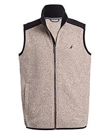 Nautica Little Boys Minos Full-Zip Sweater Fleece Vest