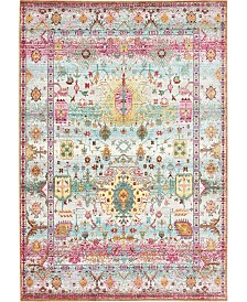 Bridgeport Home Malin Mal1 Light Green 6' x 9' Area Rug