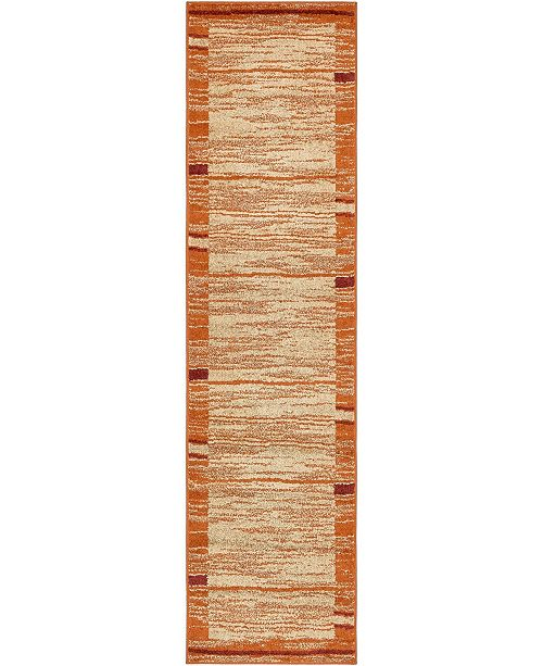 "Bridgeport Home Jasia Jas11 Beige 2' 6"" x 10' Runner Area Rug"
