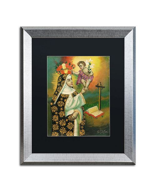 "Trademark Global Masters Fine Art 'Mother and Child' Matted Framed Art - 16"" x 20"""