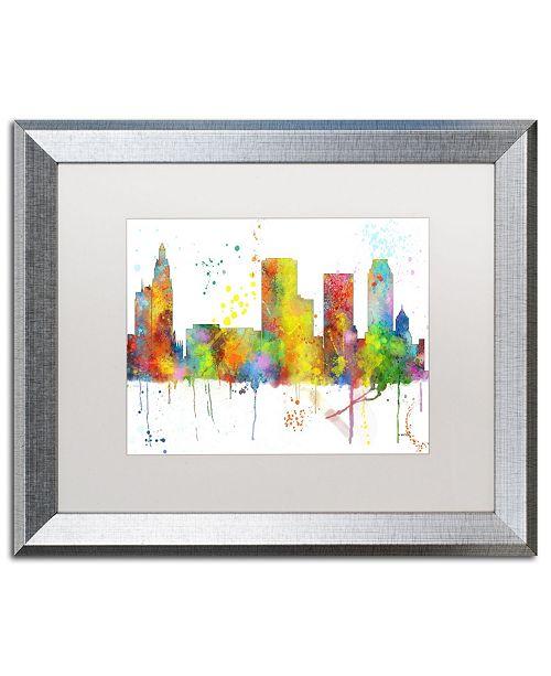 Home Decor Tulsa: Trademark Global Marlene Watson 'Tulsa Oklahoma Skyline