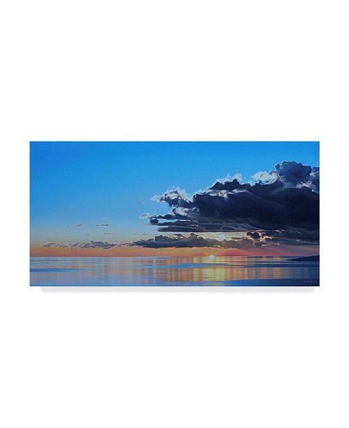 "Trademark Global Ron Parker 'Ocean Dawn' Canvas Art - 16"" x 32"""