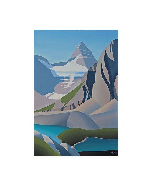 """Trademark Global Ron Parker 'Assiniboine' Canvas Art - 16"""" x 24"""""""