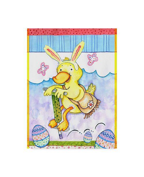 "Trademark Global Valarie Wade 'Bunny Hop' Canvas Art - 18"" x 24"""