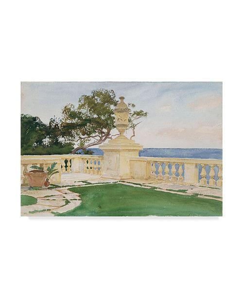 "Trademark Global John Singer Sargent 'Terrace Vizcaya' Canvas Art - 24"" x 16"""