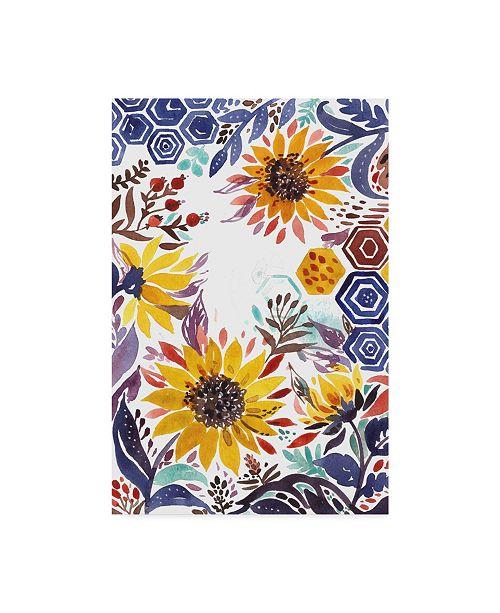 "Trademark Global Irina Trzaskos Studio 'Autumn Florals 3' Canvas Art - 22"" x 32"""