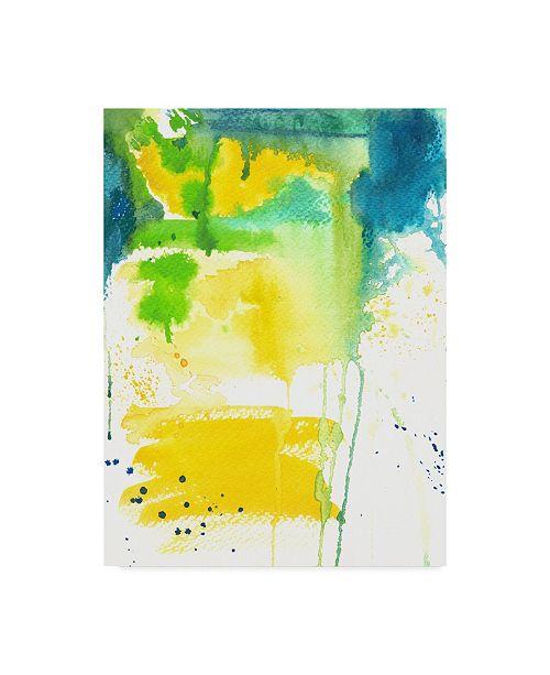 "Trademark Global Jennifer Mccully 'The Quiet Flight' Canvas Art - 24"" x 32"""