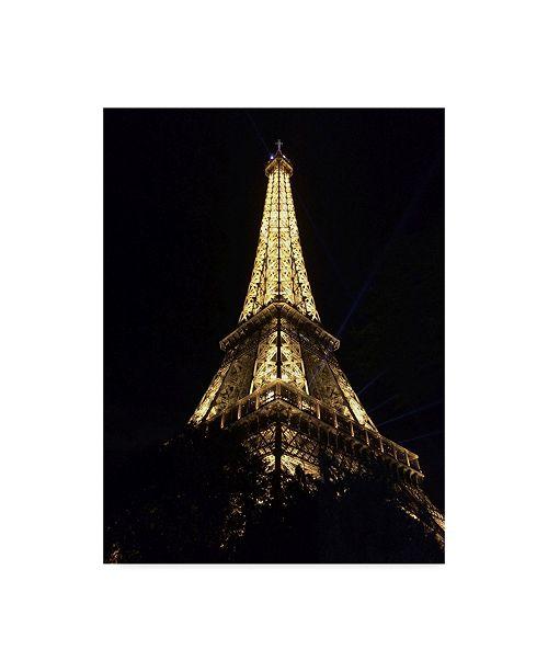 "Trademark Global Jessica Putnam 'Eiffel Tower Up Close' Canvas Art - 14"" x 19"""