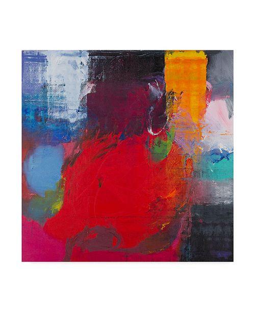 "Trademark Global Hooshang Khorasani 'Centered Heat' Canvas Art - 18"" x 18"""