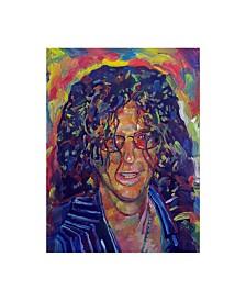 """Howie Green 'Howard Stern' Canvas Art - 14"""" x 19"""""""