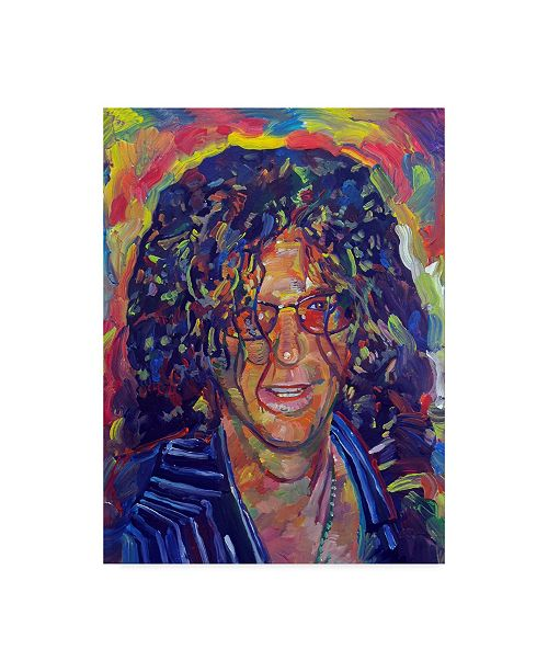 "Trademark Global Howie Green 'Howard Stern' Canvas Art - 14"" x 19"""