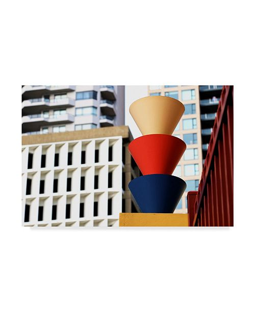 """Trademark Global Incredi 'Colorful Architecture Buildings' Canvas Art - 19"""" x 12"""""""