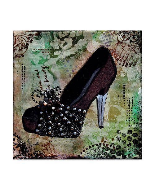 "Trademark Global Janelle Nichol 'Ladies Night' Canvas Art - 18"" x 18"""