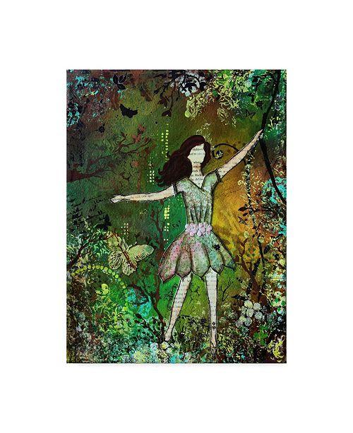 "Trademark Global Janelle Nichol 'Dream Green' Canvas Art - 14"" x 19"""