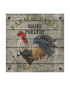 "Jean Plout 'Farm To Table 2' Canvas Art - 14"" x 14"""