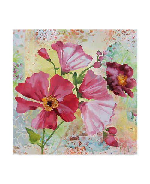 "Trademark Global Jean Plout 'Garden Beauty 1' Canvas Art - 24"" x 24"""