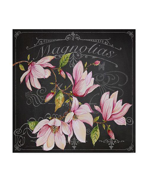 "Trademark Global Jean Plout 'Magnolias 2' Canvas Art - 24"" x 24"""