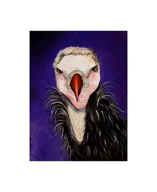 "Trademark Global Leah Saulnier 'Baby Vulture' Canvas Art - 24"" x 32"""