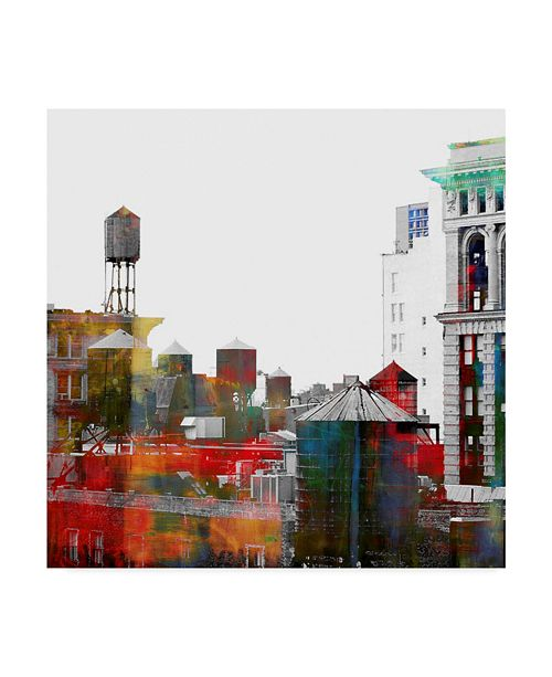 "Trademark Global Lovisart 'Where The Streets Have No Name' Canvas Art - 24"" x 24"""