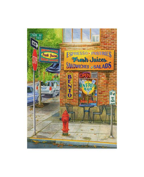 "Trademark Global Mary Irwin 'Portland Neon Treats' Canvas Art - 24"" x 32"""