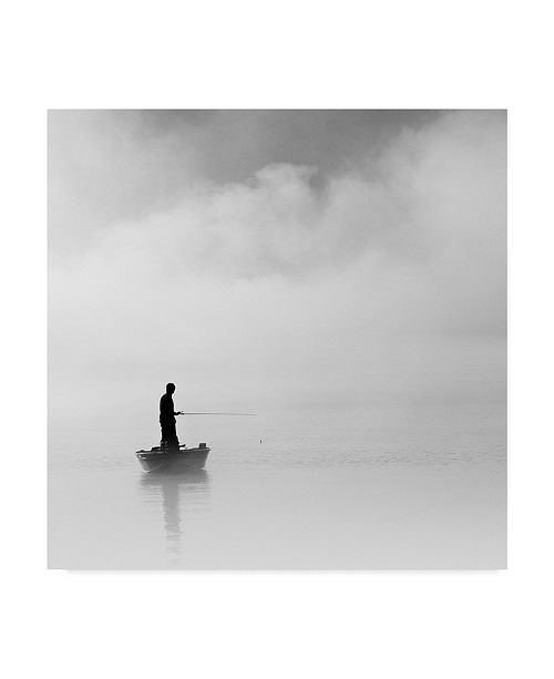 """Trademark Global Nicholas Bell Photography 'The Abyss Fisher' Canvas Art - 18"""" x 18"""""""
