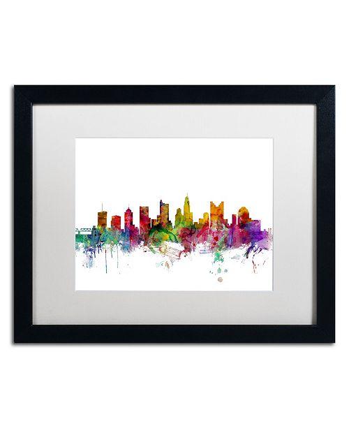 Trademark Global Michael Tompsett 'Columbus Ohio Skyline