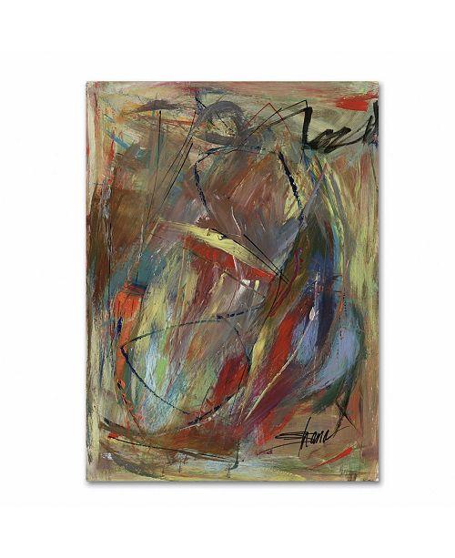 "Trademark Global Shana Doumingez 'Gleaming Roundness' Canvas Art - 24"" x 32"""