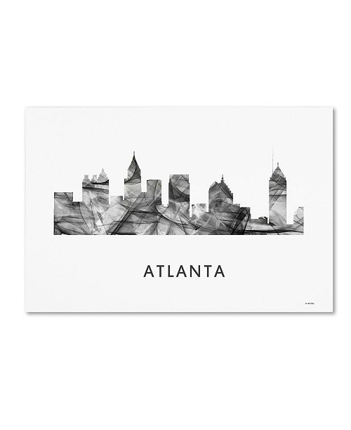 Trademark Global Marlene Watson 'Atlanta Georgia Skyline